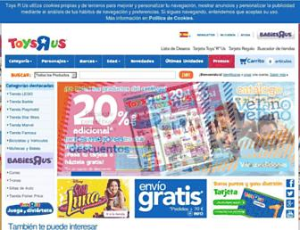 toysrus.es screenshot