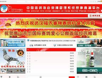 Main page screenshot of crpa.net.cn