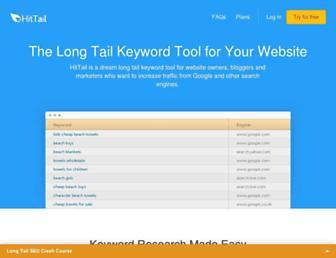 Thumbshot of Hittail.com