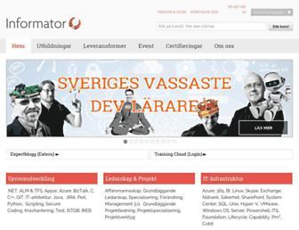 informator.se screenshot