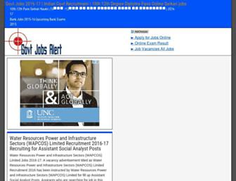 Thumbshot of Govt-jobs-alert.com