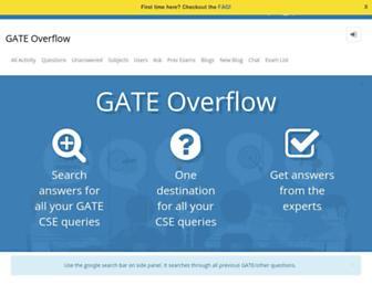 gateoverflow.in screenshot