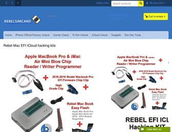 rebelsimcard.com screenshot