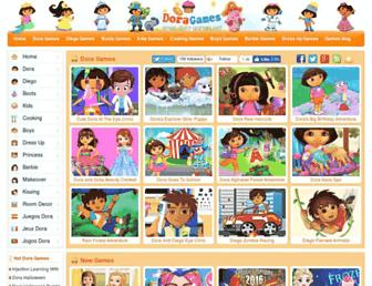 Thumbshot of Dora-games.net