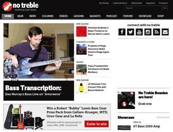notreble.com screenshot