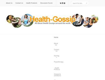 health-gossip.com screenshot