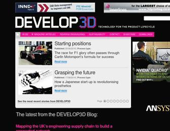 develop3d.com screenshot