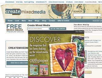 createmixedmedia.com screenshot