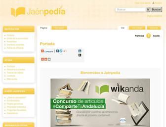 jaenpedia.wikanda.es screenshot