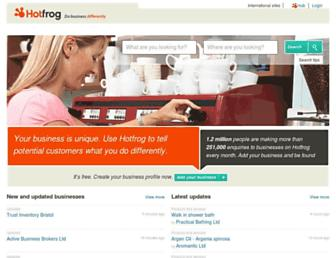 hotfrog.co.uk screenshot
