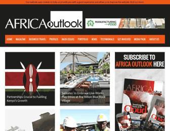 africaoutlookmag.com screenshot