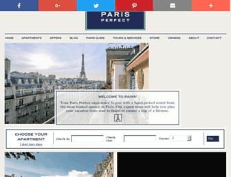 parisperfect.com screenshot
