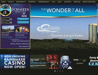 Thumbshot of Foxwoods.com