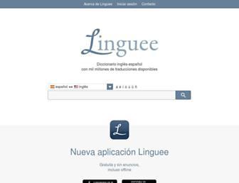 linguee.es screenshot