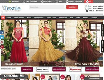 textileexport.in screenshot