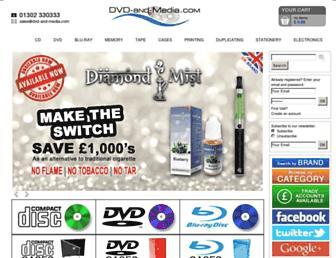 dvd-and-media.com screenshot