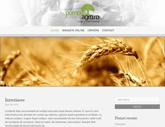 pompe-agro.ro screenshot