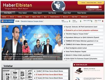 haberelbistan.com screenshot