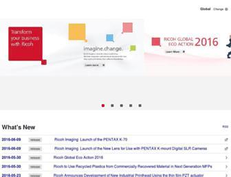 ricoh.com screenshot