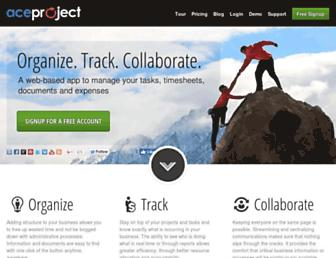 Thumbshot of Aceproject.com