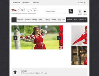 Thumbshot of Rusclothing.com