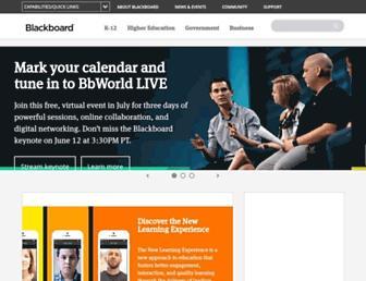 blackboard.com screenshot