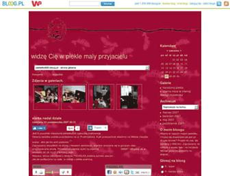 Main page screenshot of piekielko666.bloog.pl