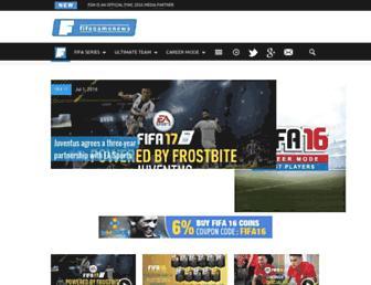 fifagamenews.com screenshot