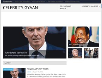 celebritygyaan.com screenshot