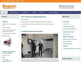 begneragenturer.se screenshot