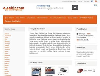 Thumbshot of E-sehir.com