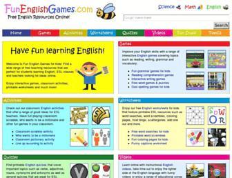 Thumbshot of Funenglishgames.com