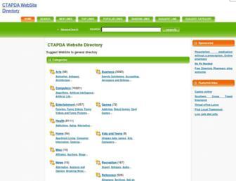 Thumbshot of Ctapda.com