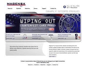 magensa.net screenshot
