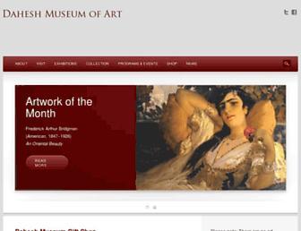 daheshmuseum.org screenshot