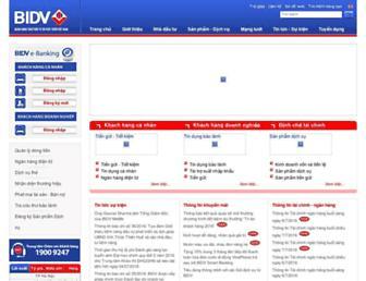 Main page screenshot of mhb.com.vn