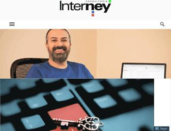 Main page screenshot of interney.net