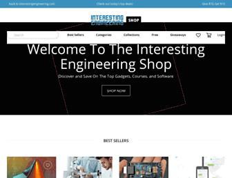 shop.interestingengineering.com screenshot