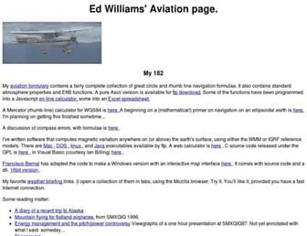 edwilliams.org screenshot
