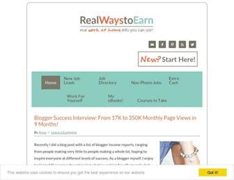 Thumbshot of Realwaystoearnmoneyonline.com
