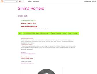 silvinaromero.blogspot.com screenshot
