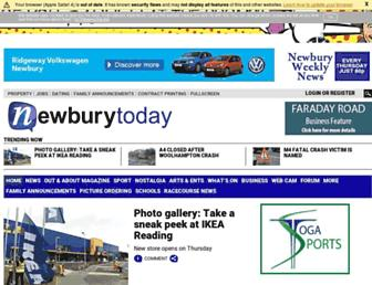 newburytoday.co.uk screenshot