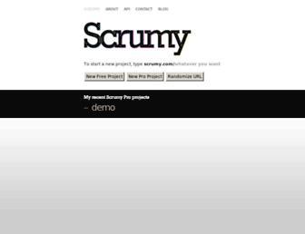 Thumbshot of Scrumy.com