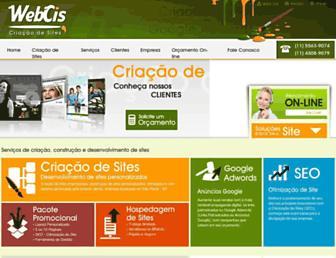 webcis.com.br screenshot