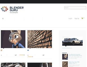 Thumbshot of Blenderguru.com