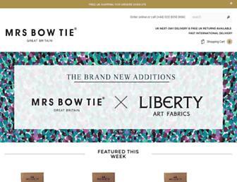 Thumbshot of Mrsbowtie.com