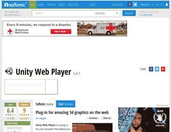 unity-web-player.en.softonic.com screenshot