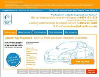 adrianflux.co.uk screenshot