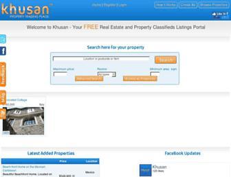 Thumbshot of Khusan.com