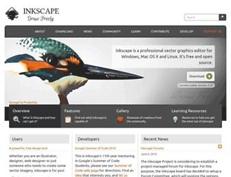 inkscape.org screenshot